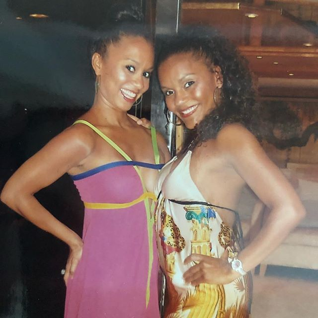 Throwback picture of the owners of Rucker Roots!  Ellen has always loved rocking her natural curls. Ione always loved her blonde highlights, but took a break one summer and rocked her natural color.  Both sisters have been natural for years.  What natural means to us is without a relaxer, and caring for your hair with natural ingredients and premium products.  We were taught this at a very young age by our mother and grandmother. We would love to hear your comments on what products you would like us to bring to Rucker Roots?  Drop some feedback in the comments below👇🏽.