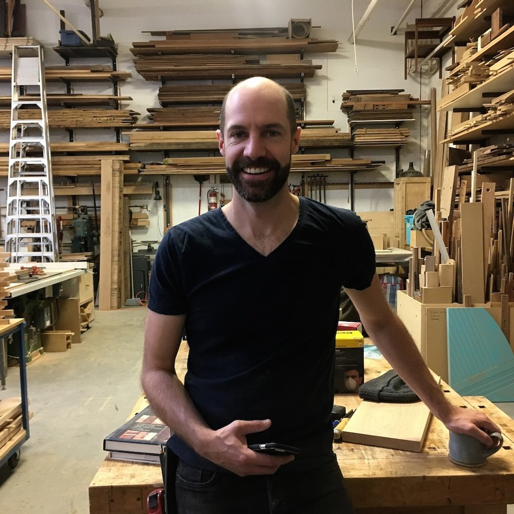 Simon Ford is a Toronto-based designer and maker who produces furniture and functional objects. He was introduced to furniture design as an apprentice to Heidi Earnshaw and has since studied at Sheridan College's School of Craft and Design and launched a design studio of his own. He has been the recipient of several awards and accolades for his work and garnered press in such publications as the Globe and Mail, Azure, and International Architecture and Design. Prior to his venture into furniture design, he received a Bachelor of Landscape Architecture from the University of Guelph and worked for multiple Toronto-based landscape architecture firms on a wide-range of projects. His experience as a landscape architect continues to inform his current design work. www.simonfordstudio.com