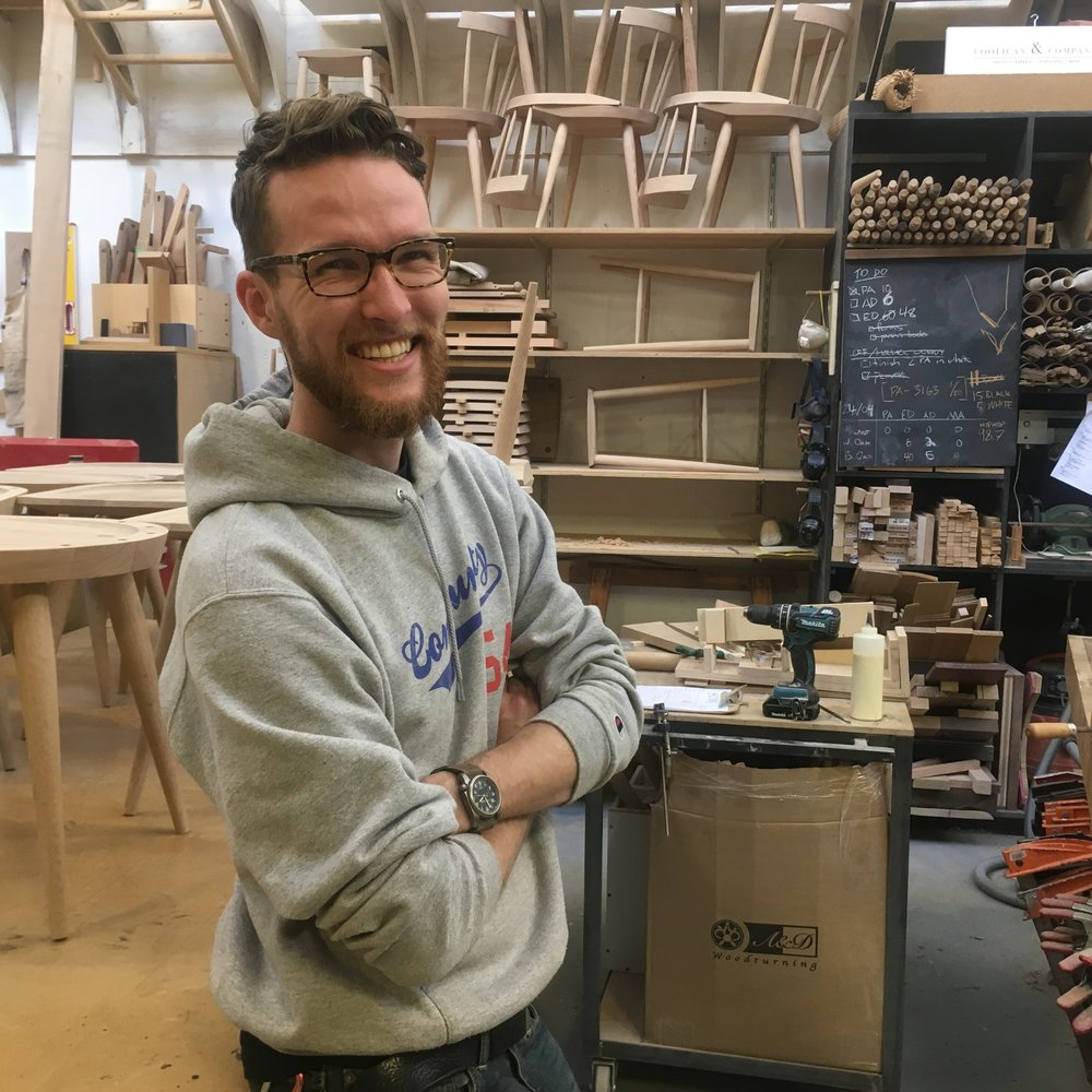Nathan Clarke is a Toronto-based furniture maker and designer. He creates work that fits a contemporary context while honouring the traditions of his craft. He is a graduate of the Furniture – Craft+Design program at Sheridan College, and has been an instructor at the Center For Furniture Craftsmanship in Rockport, Maine. Through exhibitions in Toronto and the United States his work has garnered attention, leading to several awards as well as press during events like the Toronto Design Offsite Festival. www.nathanclarkestudio.com