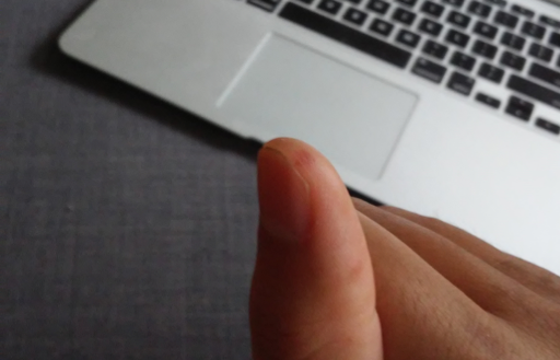 These hands are made for typing. My first woodworking injury – a bruised thumb from flipping a switch on a table saw...