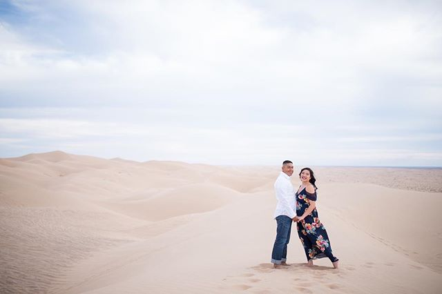 Went to the desert awhile back to shoot my sister's engagement photos. It was an excitement to shoot them! Also, im double checking to make sure hes good. Or else 🧐