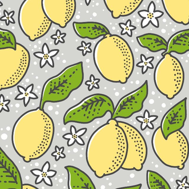 This streak of lovely weather in Minnesota makes me finally feel like we may seem summer sometime in my lifetime! 😂😭😩 currently working on a series of citrus patterns to celebrate! 🍊 🎉  #risingtidesociety #graphicdesign #patterndesign #patterns #artlicensing #surfacedesign #printandpattern