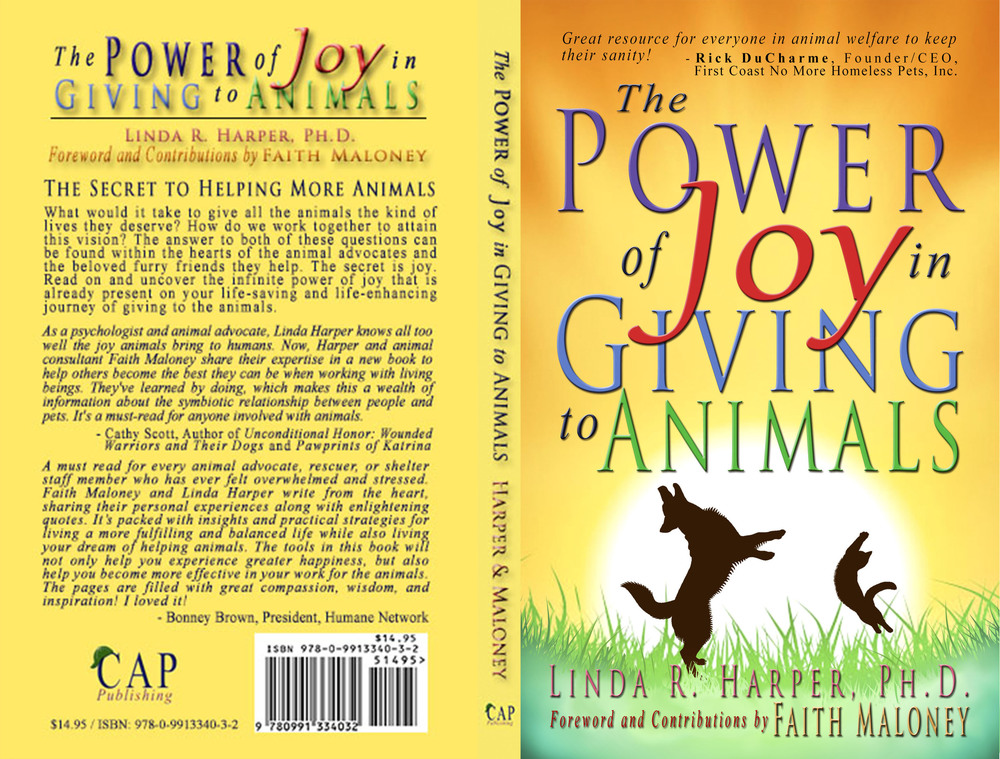 'The Power of Joy in Giving to Animals' by Dr. Linda R. Harper, Ph.D.