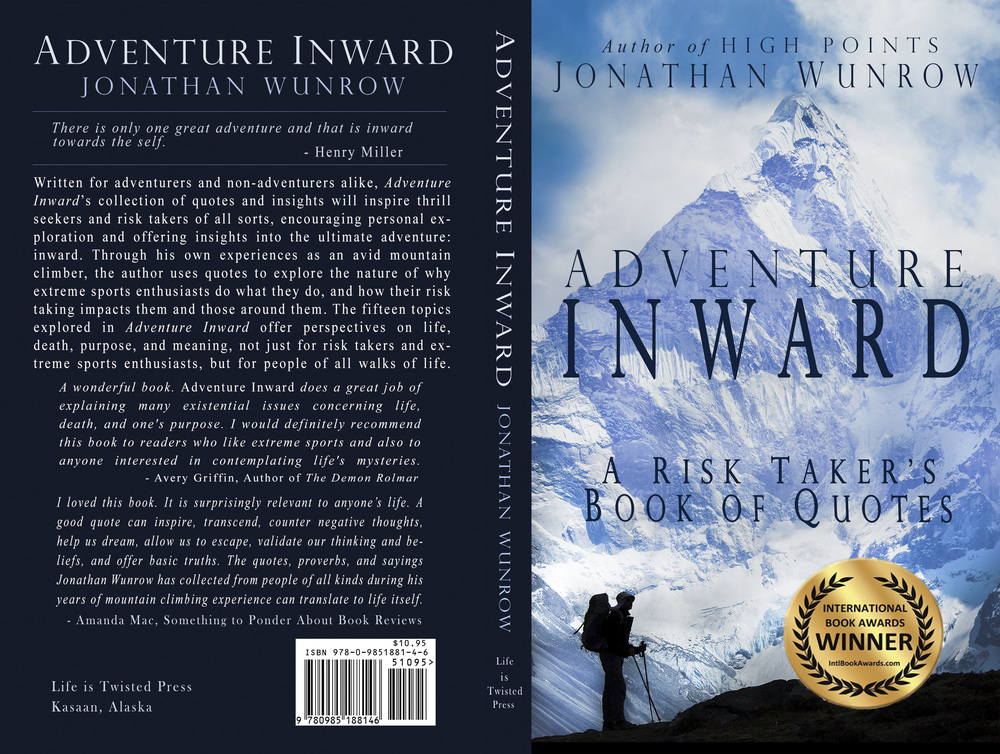 International Book Awards Winner 'Adventure Inward' by Jonathan Wunrow