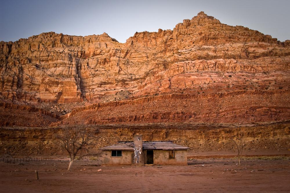 Abandoned Navajo Home