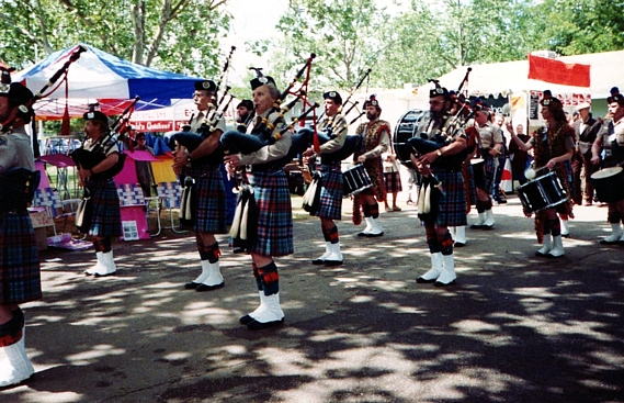 Photo Courtesy of Kevin Young   Sonoma County Sheriff Office Pipe Band : Santa Rosa Games