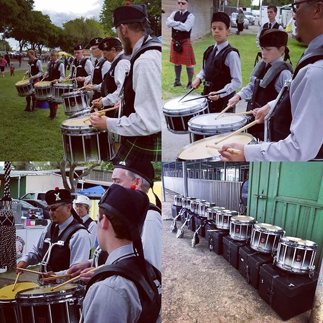 Some shots of our new drums, and our gr 4 and 5 drum corps from this weekend! @premierdrumco