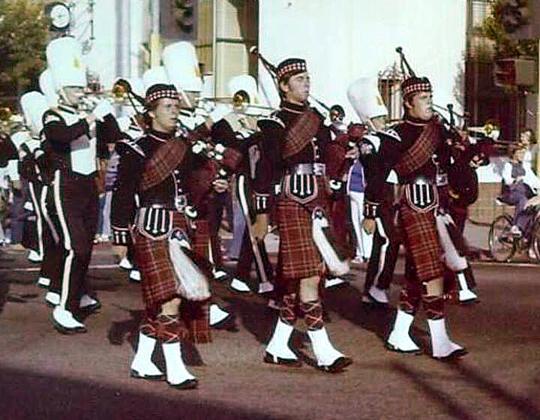 Armijo Pipers (L-R) Jon Swan, Charles Sandford, Patrick McSherry-Peck