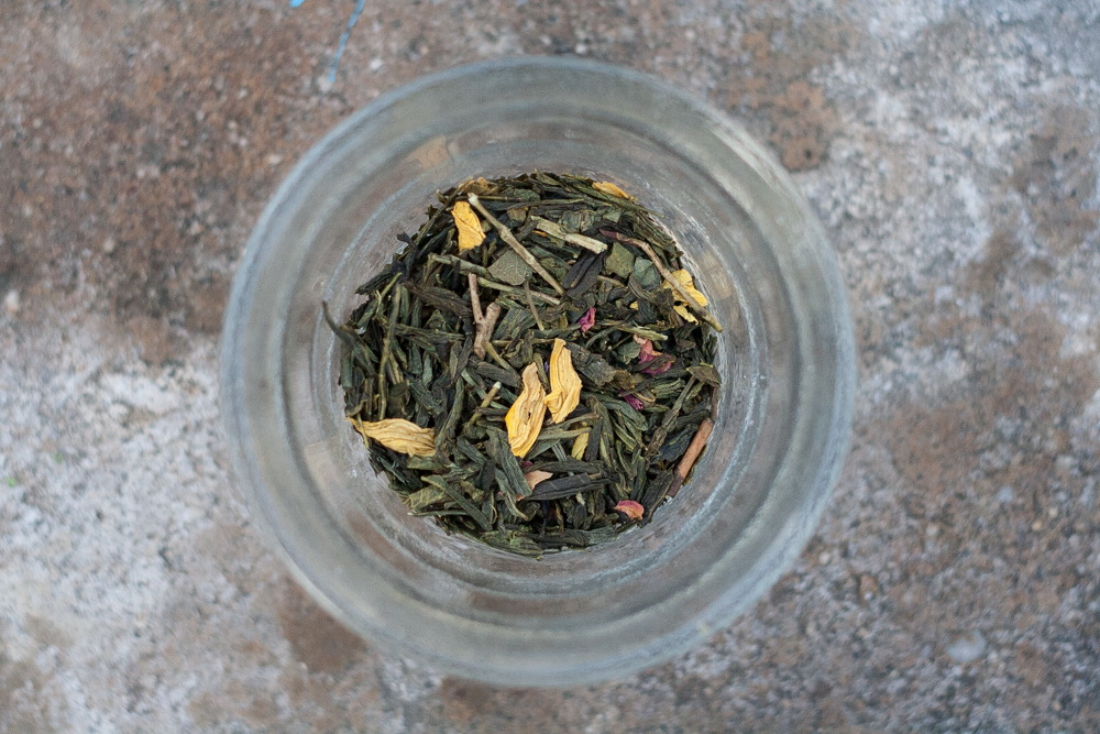 Thé du Hammam fruity green tea from Palais des Thes