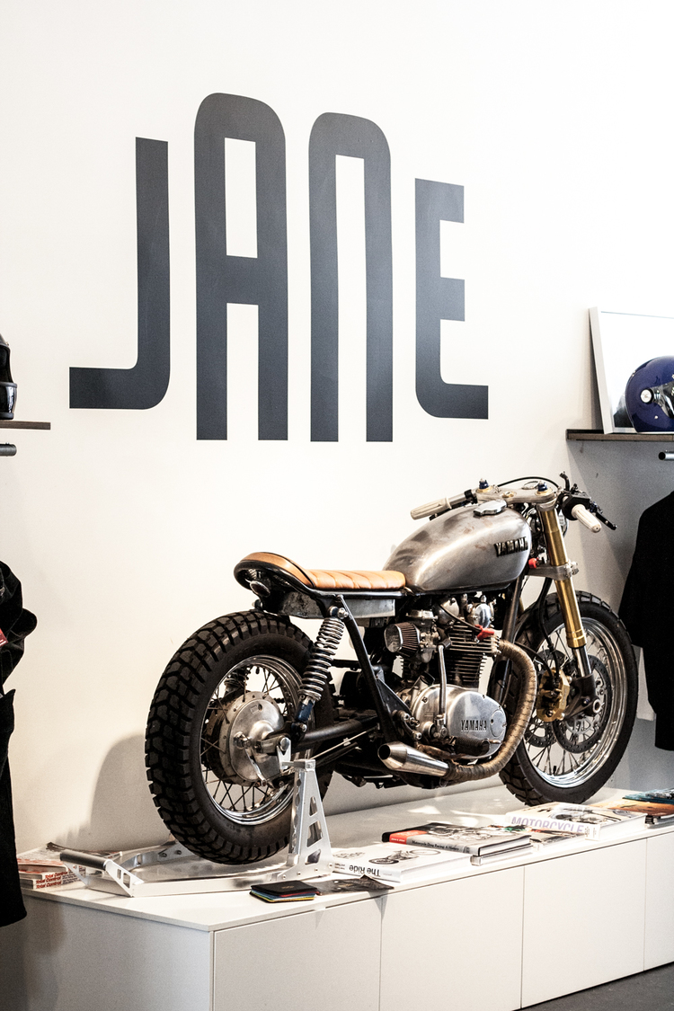 Jane Motorcycles Coffee Shop Brooklyn