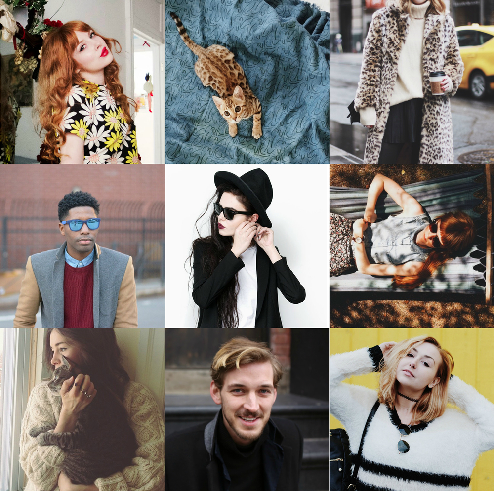 my favorite bloggers collage