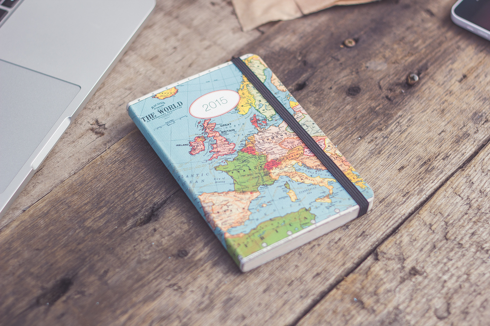 cavallini & co world map planner