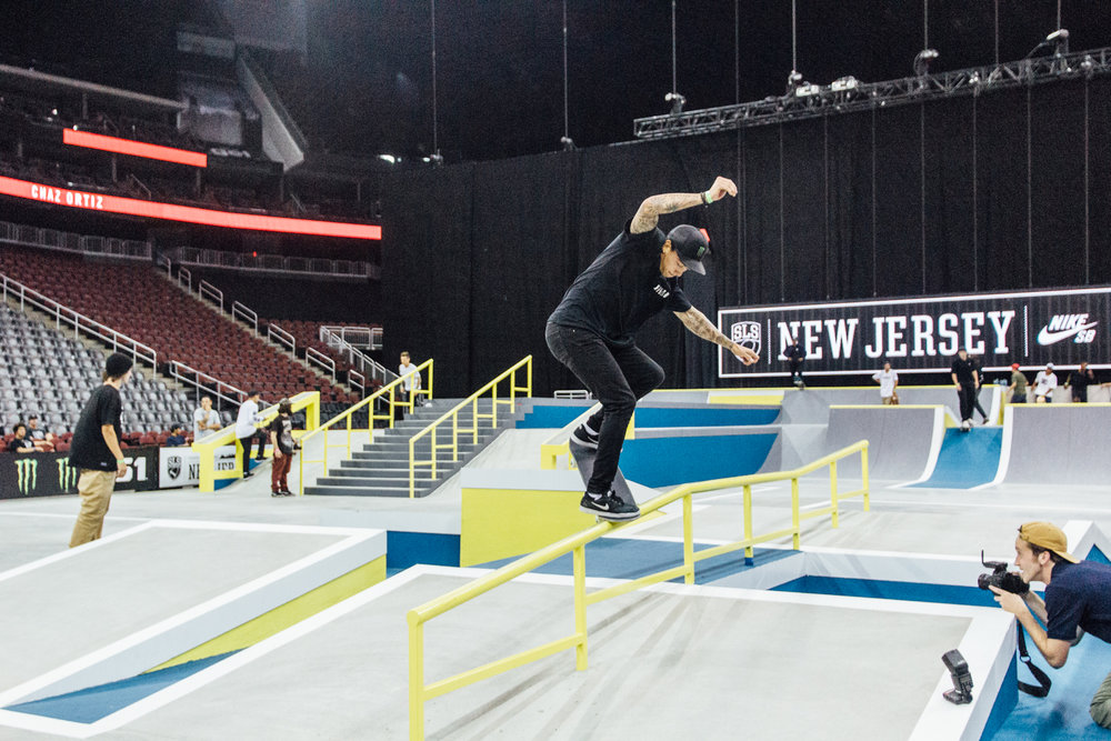 nyjah huston street league new jersey