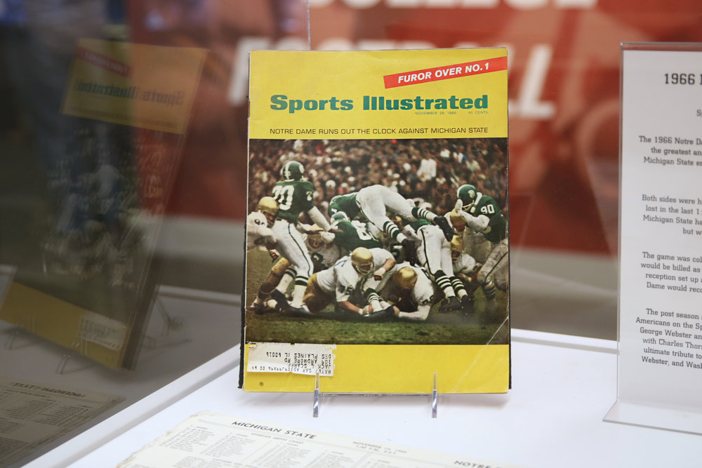 Artifact, Courtesy College Football Hall of Fame 2019