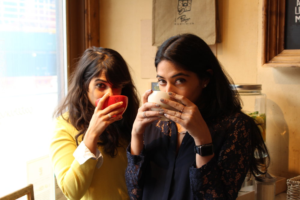 Reema and Sana