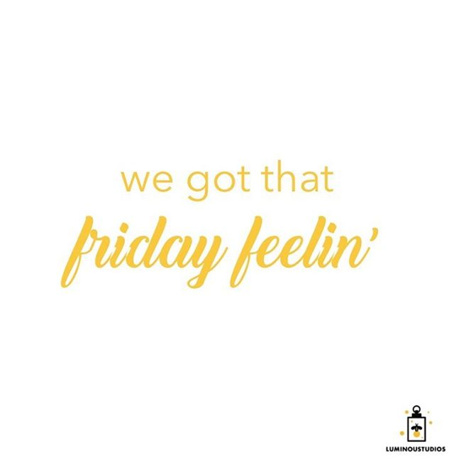 We got that Friday feelin' 😎 . . . #luminoustudios #quoteoftheday #quotestoliveby #friday #happyfriday #friyay #weekendvibes #cheerstotheweekend #inspirationalquotes #motivationalquotes #happyquotes #quotesdaily #quotestagram #quotesaboutlife #artistsoninstagram #artistsofinstagram #losangeles #newyork #filmproduction #womeninfilm #womeninbusiness