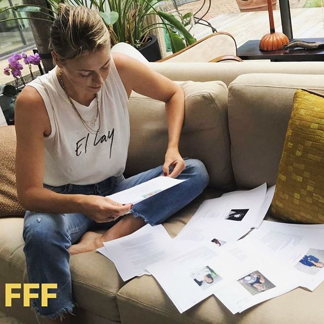 "This week's #FeaturedFounder is none other than tennis champion and founder of candy retailer @sugarpova , @mariasharapova ! We are so excited to announce that Maria has selected our very own co-founder @reemadutt as a finalist and member of the ""The Spectacular Seven"" female entrepreneurs to participate in her mentorship program in partnership with @nawbonational !"