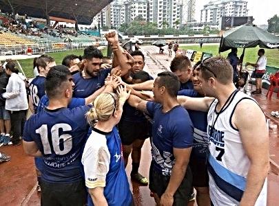 Cobra 10's Rugby Tournament in Kuala Lumpur, Malaysia.