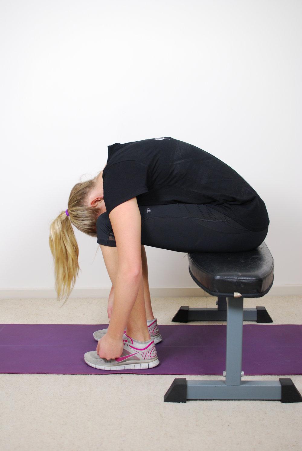 Flexion relaxation response