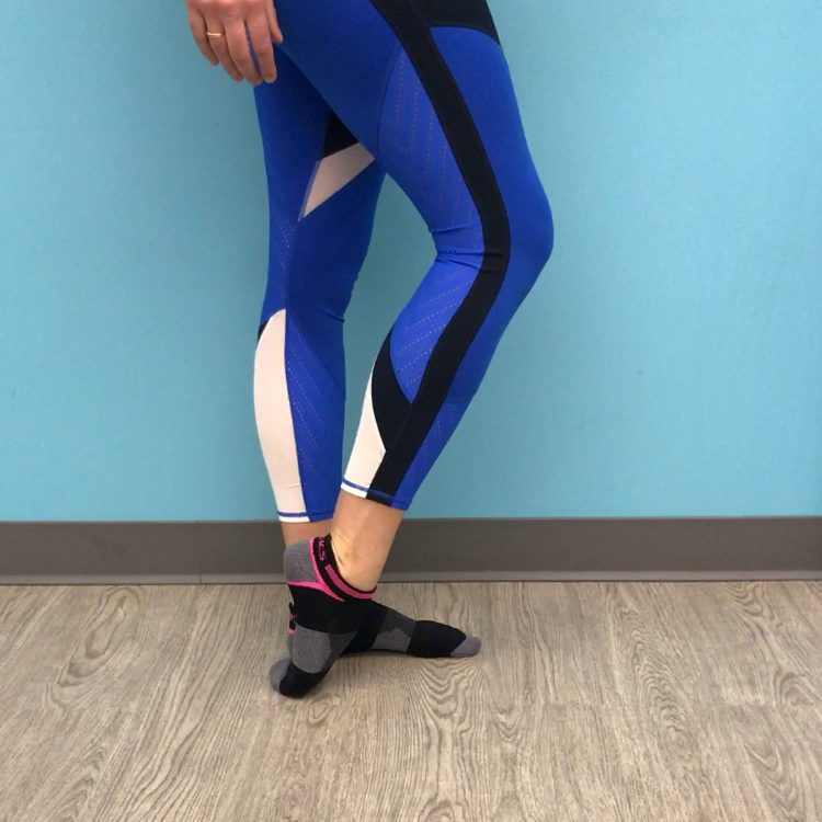 Plantar flexion stretch