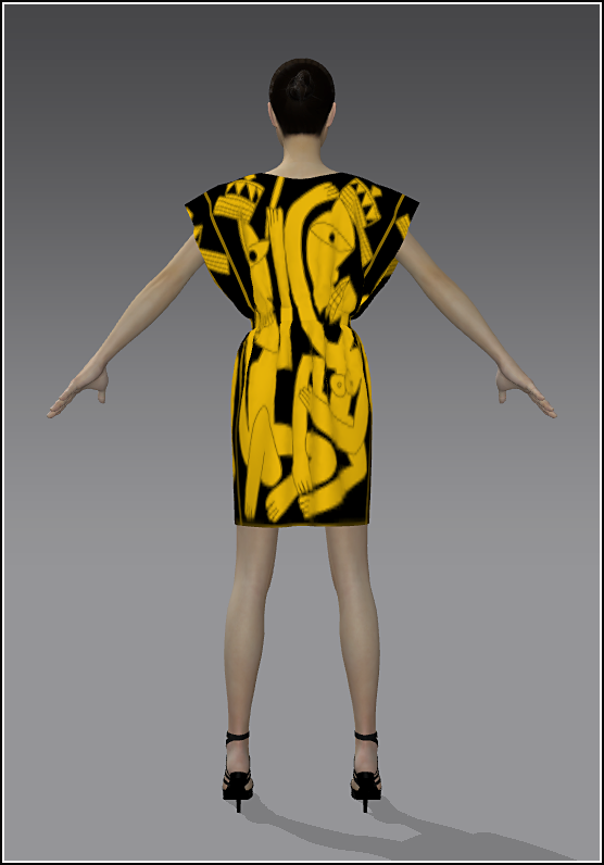 16Simple Skirt YellowGold 02 Back.png