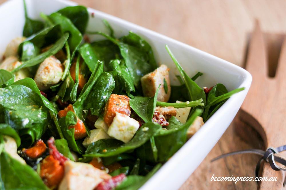 Warm-chicken-salad