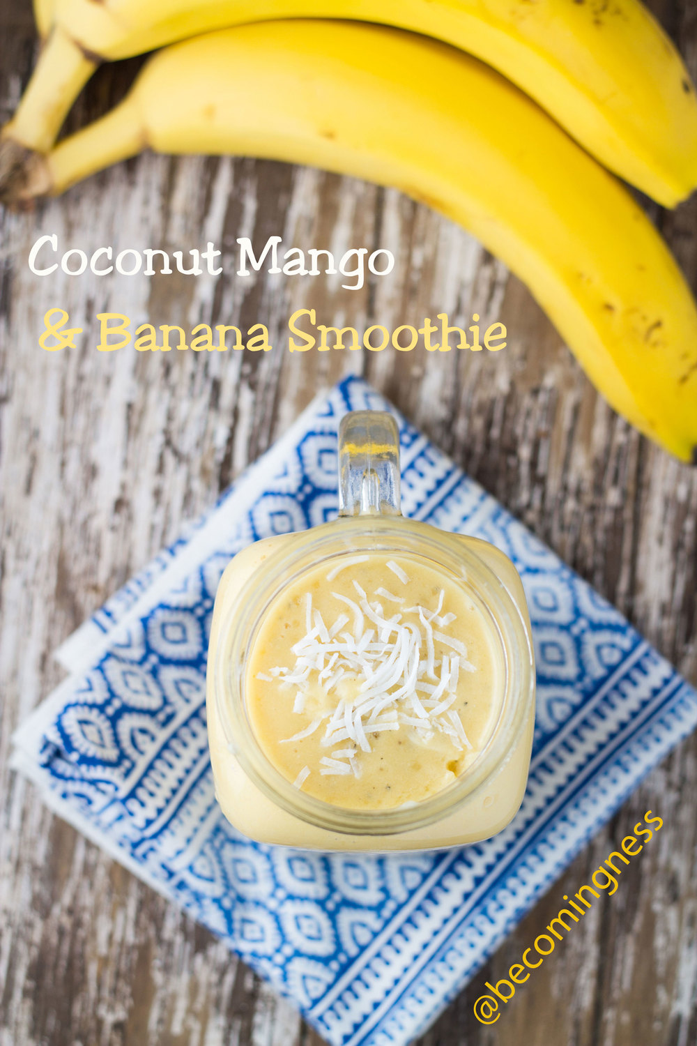 coconut-mango-banana-smoothie