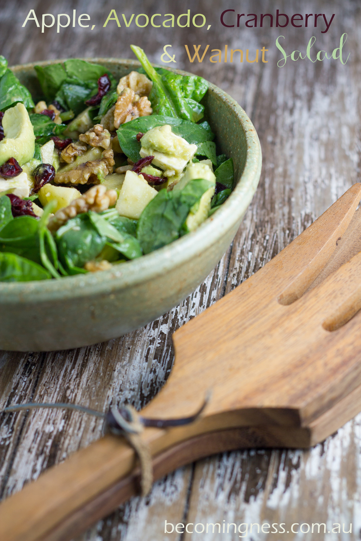 apple-avocado-cranberry-walnut-salad