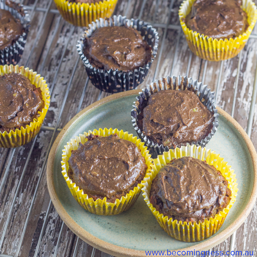 Sugar-Free-Double-Chocolate-Muffins