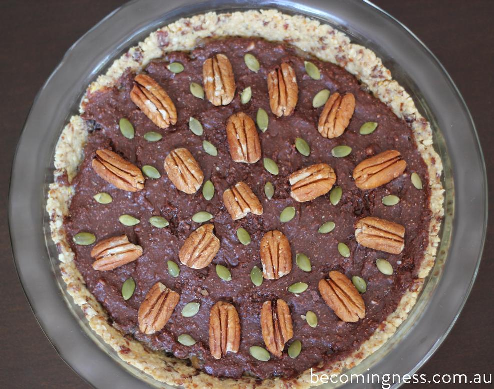 chocolate-chia-pecan-pie