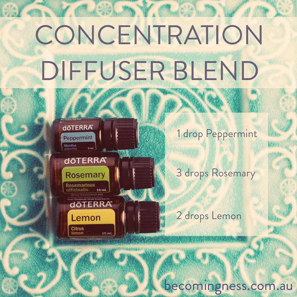 Concentration-diffuser-blend