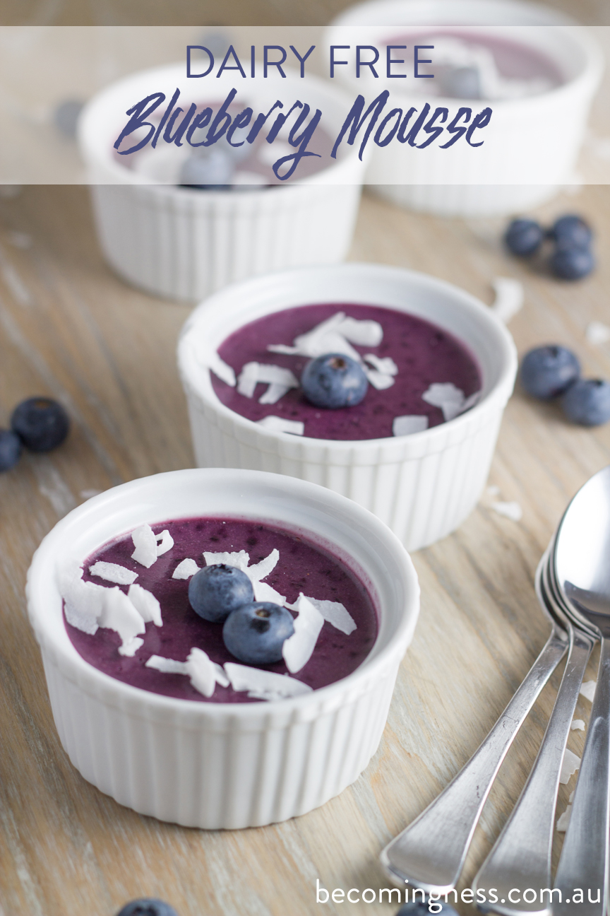 Blueberry-Mousse