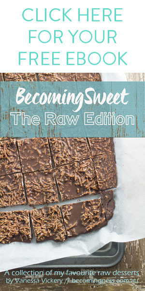 Newsletter- becomingsweet-the-raw-edition