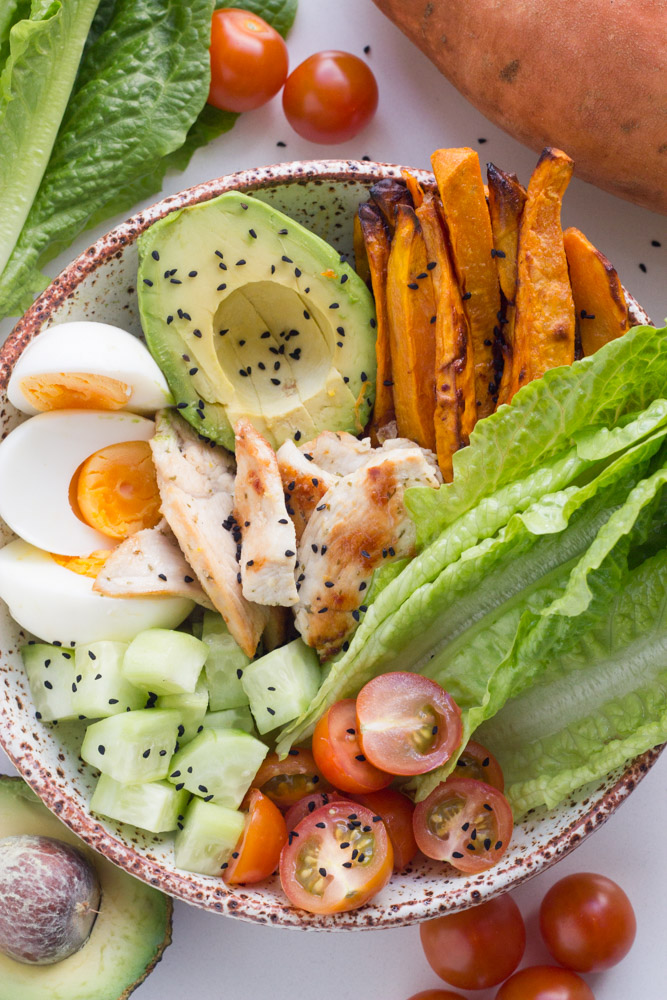 lemon-garlic-chicken-buddha-bowl