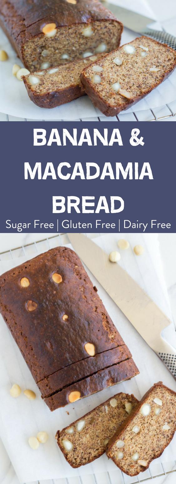 Banana & Macadamia Bread