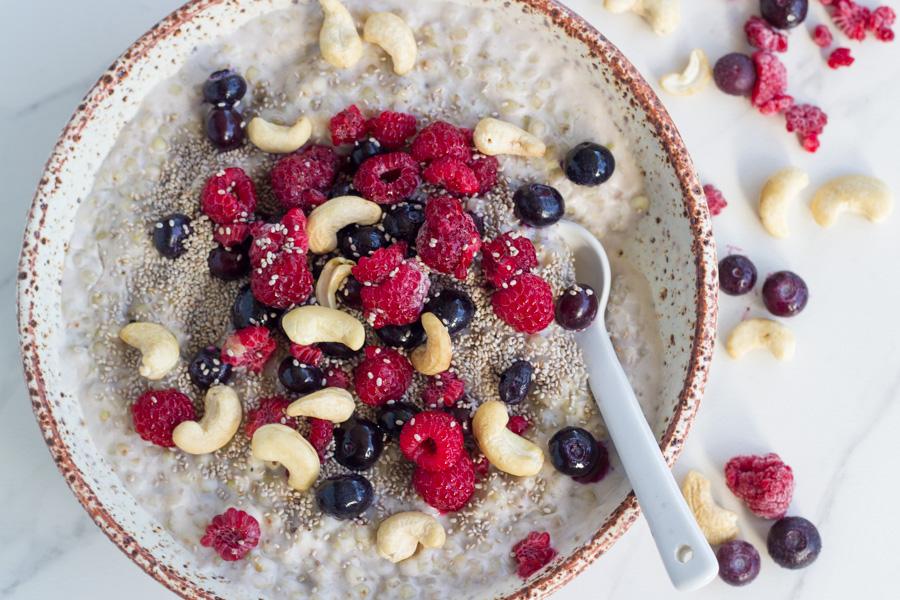 Berry Buckwheat Porridge
