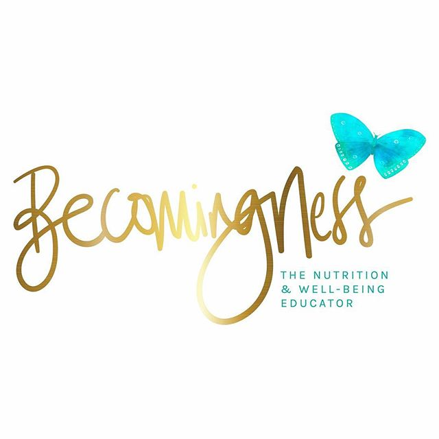 Yesterday I received my new logo and branding for my new Becomingness website which is coming very soon!  I wanted to share with you my new logo. I love it so much and the butterfly represents the beautiful transformation I have had in the past few months which goes so well with Becomingness 💕  Thank you to @blissinventive  for creating this gorgeous logo and my branding 🙌🏼💖🙏🏻🦋