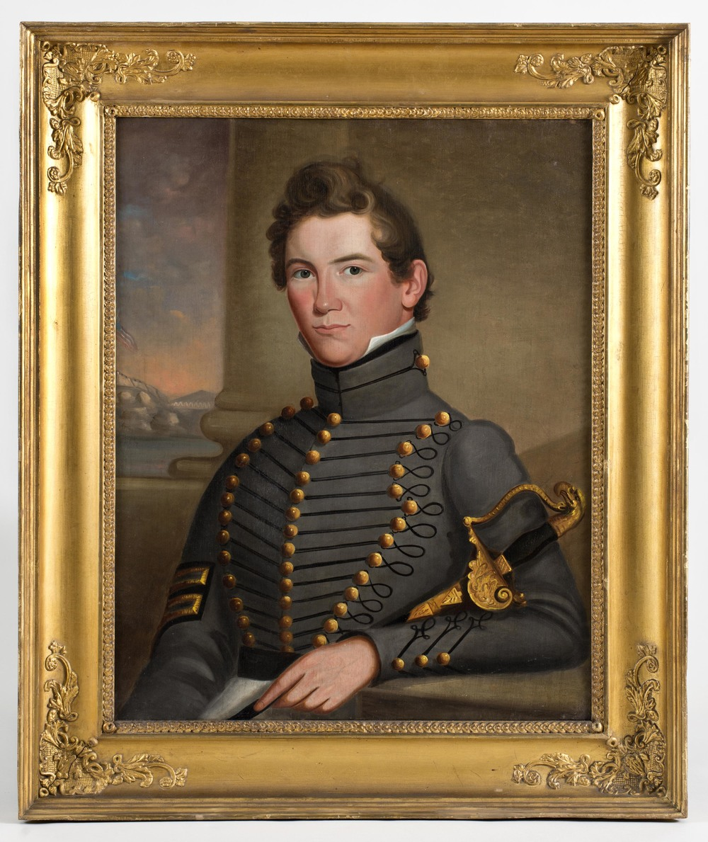 Portrait of John McClellan as a West Point Cadet
