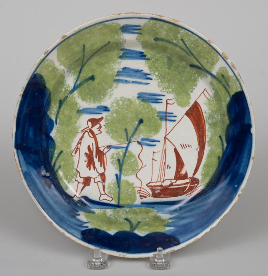 Polychrome Delft Dish