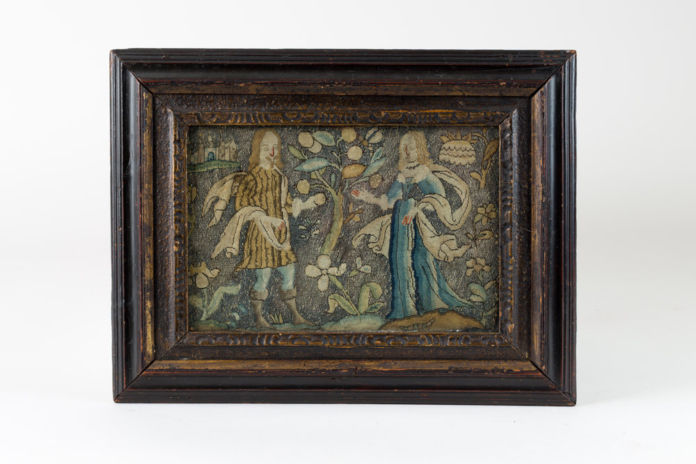 17th Century Needlework Picture