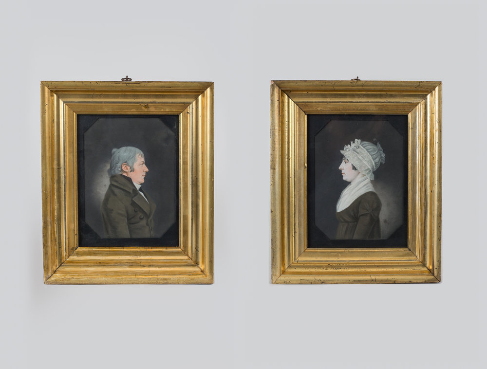 Portraits of Peter and Catherine Ritter