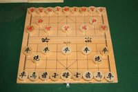 I don't remember how to play Xiangqi, but it seems to have external balance.
