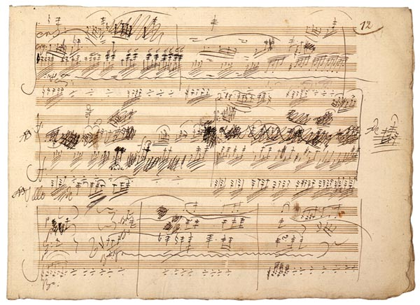 Beethoven's Manuscript