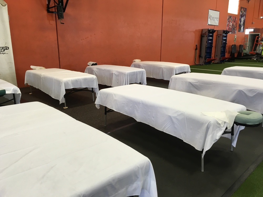 Tables are ready!