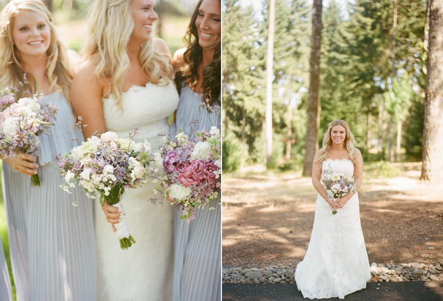 Natural Oregon Outdoor Wedding