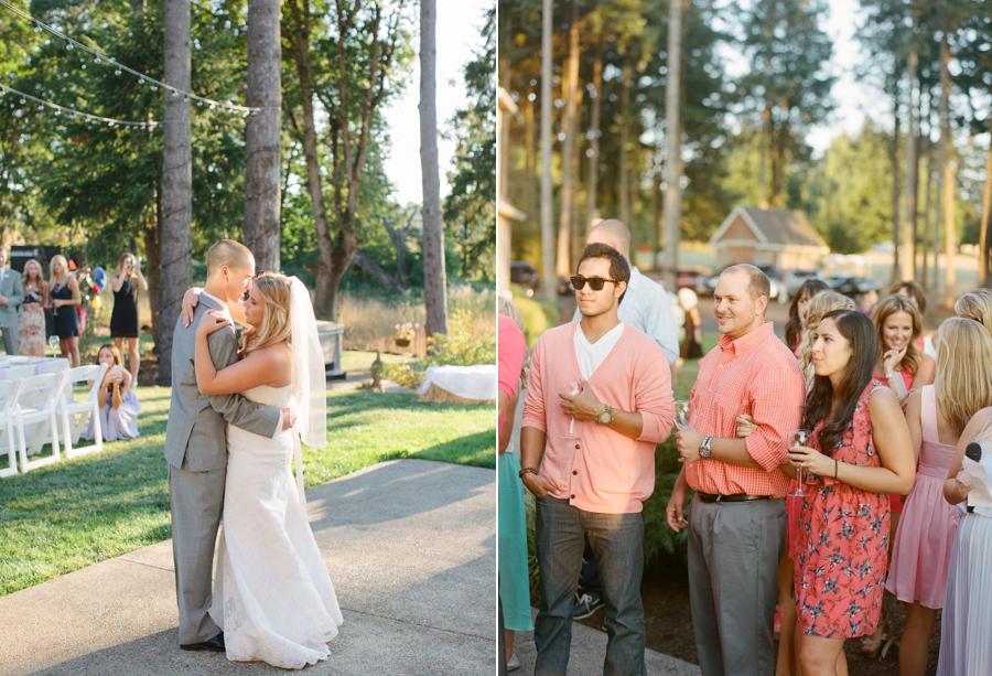 Outdoor Oregon Summer Wedding