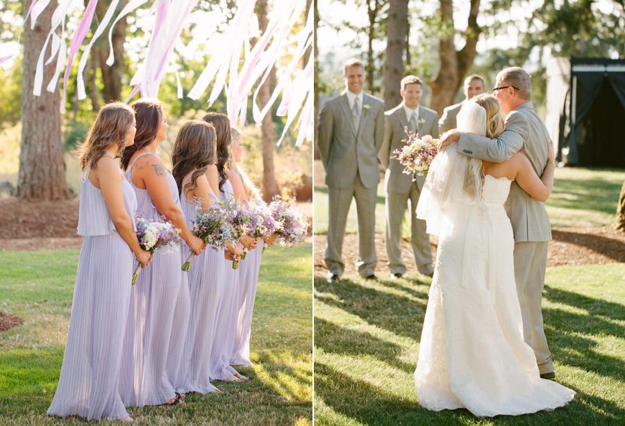 Romantic Oregon Summer Wedding