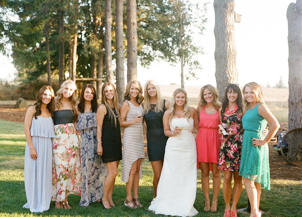 Romantic Oregon Wedding in the Woods-19