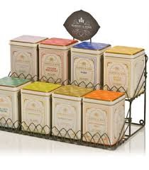 8 varieties of Harney & Sons tea with stand - 1 stand per 25 guests