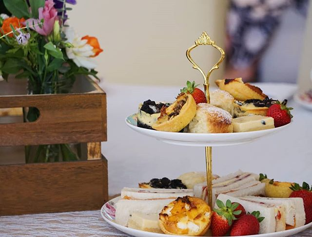 It was a beautiful day yesterday for Daniella's Kitchen Tea. We hope you had a delicious afternoon and shared lots of special memories with your family and friends. MP x x  #hightea #highteasociety #afternoontea #kitchentea #bridalshower #scones #cheesecake #delicious #yum #foodie #foodstagram
